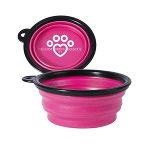 Small Collapsible Pet Bowl